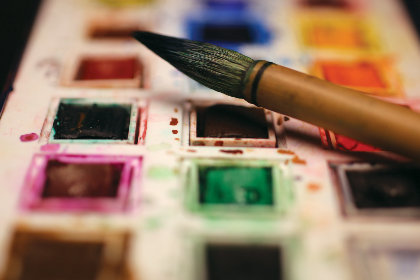 paintbrushes color