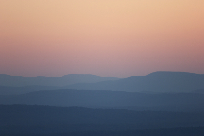pastel mountains