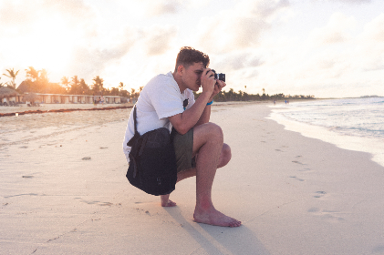 Photo of photographer