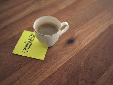 post-itnote coffee