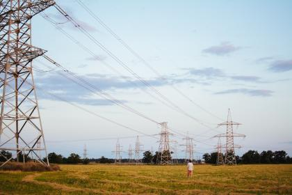 Photo of powerlines