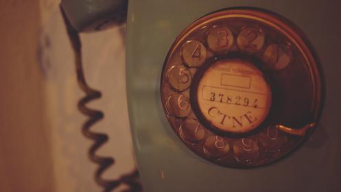 Photo of rotarytelephone