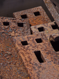 Photo of rusted