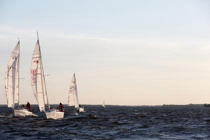 Photo of sailboats