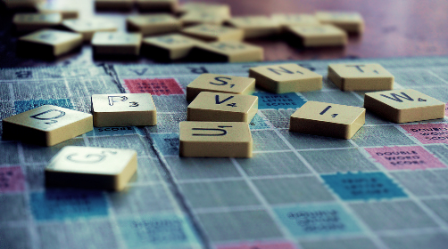 Photo of scrabble