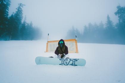 Photo of snowboard