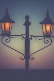 streetlights lampposts