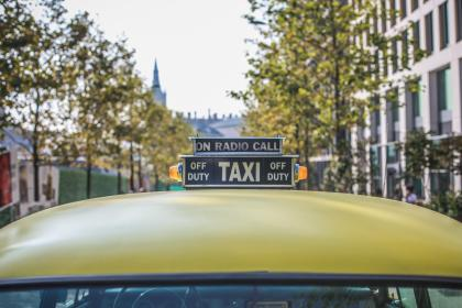 Photo of taxi