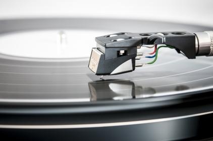 Photo of turntable