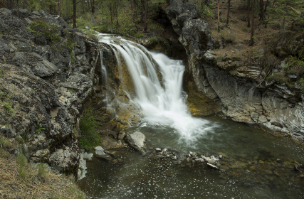 Photo of waterfall