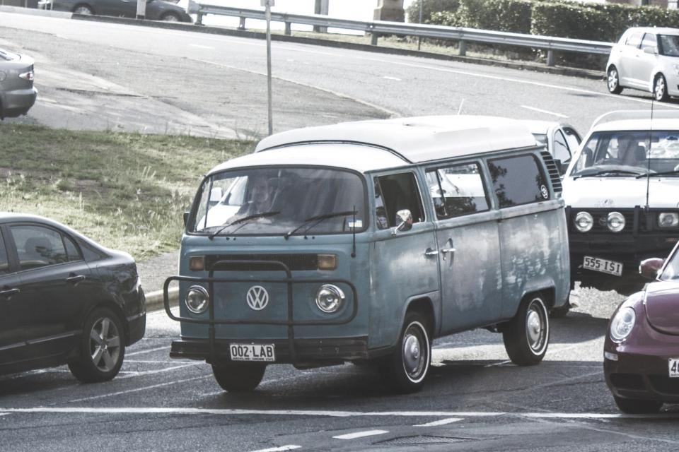volkswagen van vanagon cars road traffic