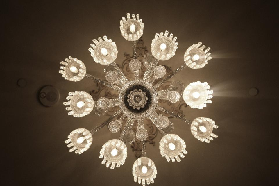 chandelier lights luxury crystal
