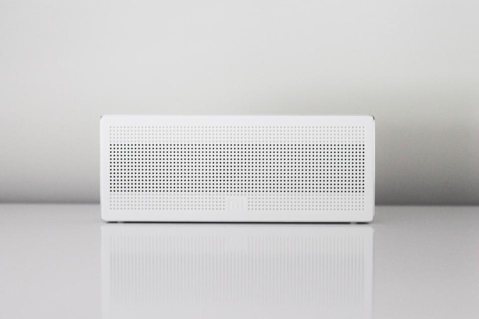 speaker dock audio objects white technology