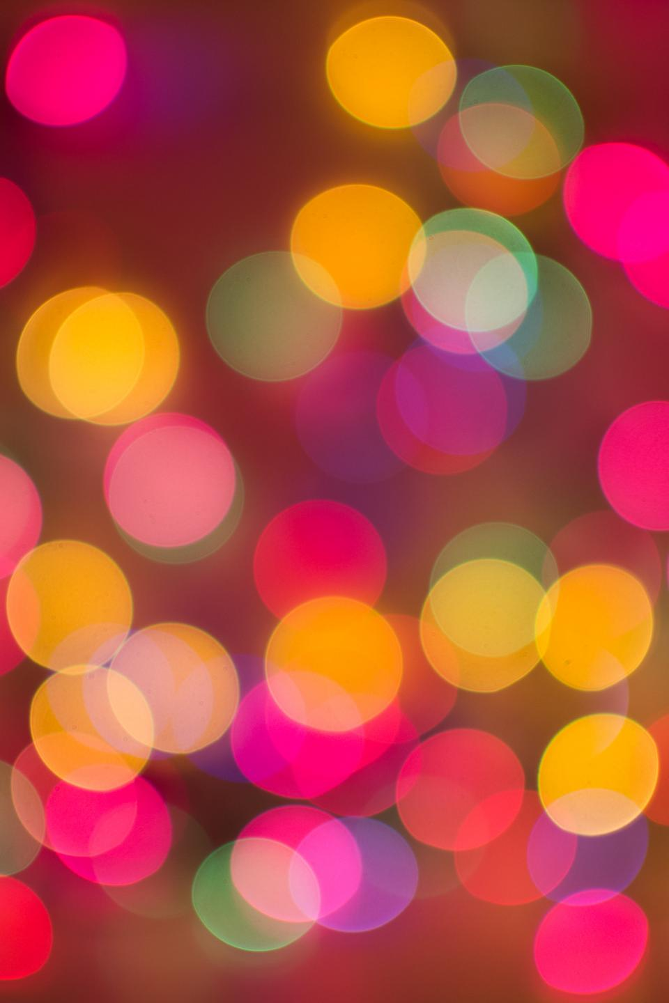 abstract blurry lights bokeh colors colours Christmas