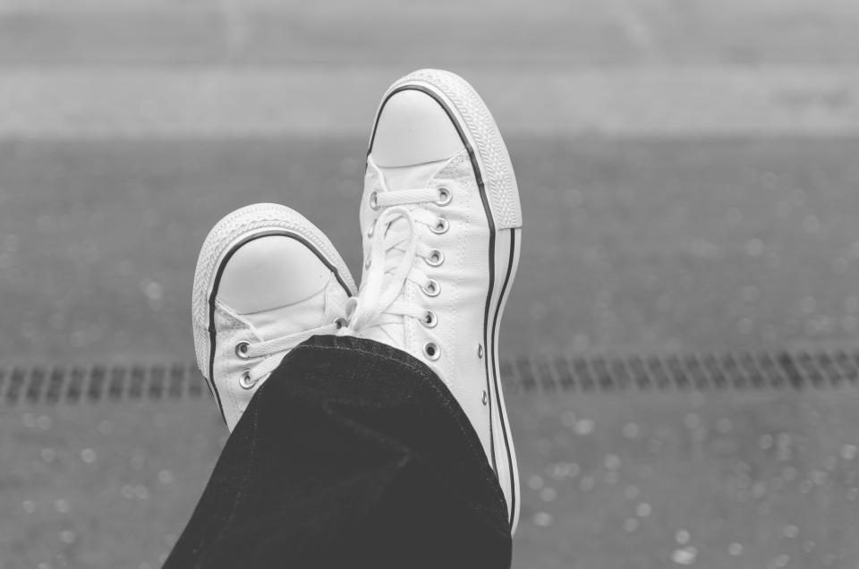 sneakers shoes fashion black and white