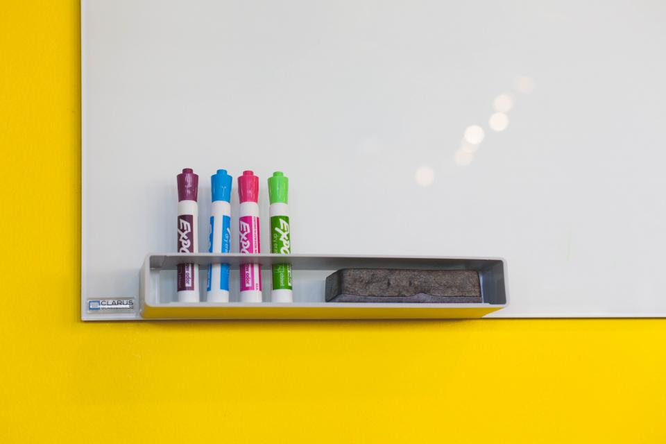 whiteboard markers eraser boardroom office business meeting