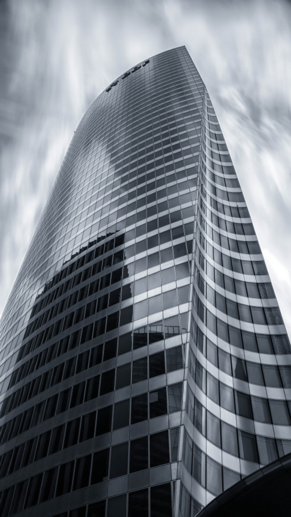 skyscaper office building city building tall downtown architecture monochromatic reflection modern downtown urban glass building exterior