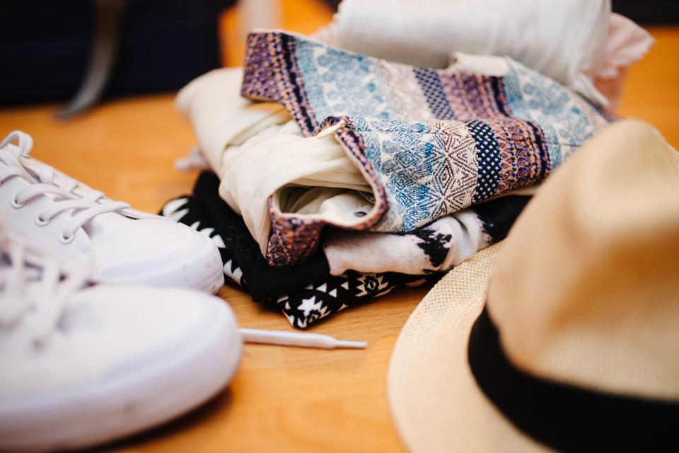 clothes sneakers shoes fedora hat fashion