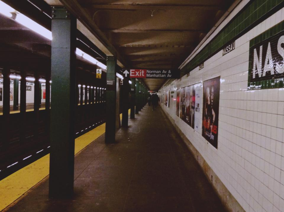 subway station transportation urban new york nyc