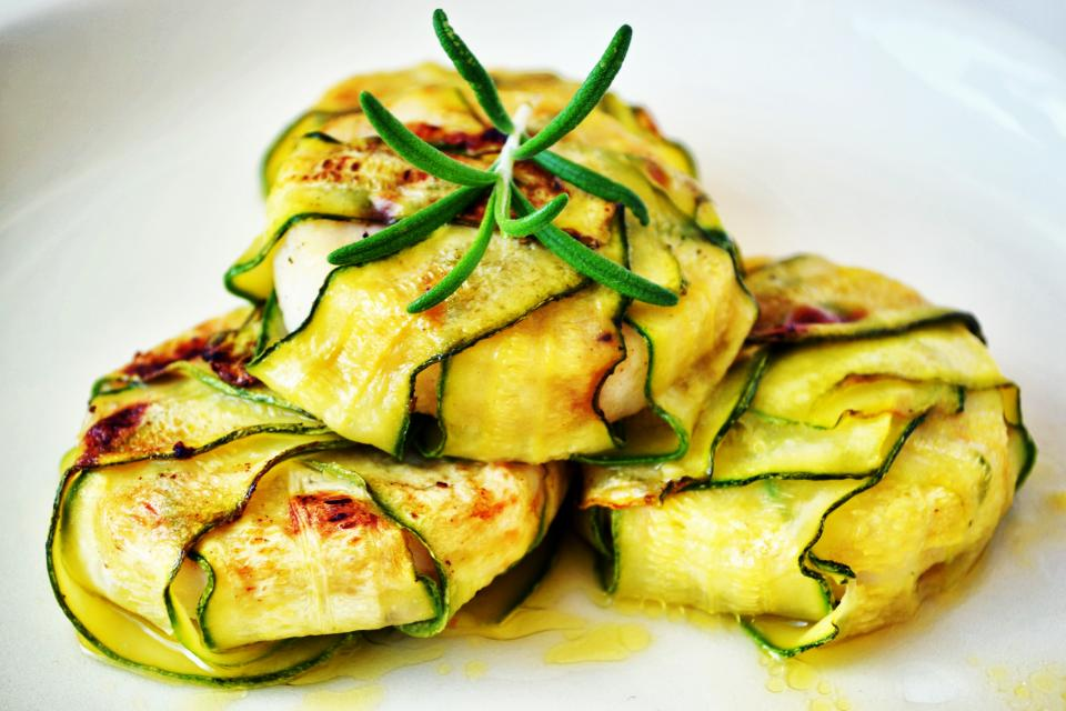 zucchini summer squash food recipe delicious breakfast lunch dinner restaurant dish viand diet tasty vegetable meal herb appetizer cuisine plate
