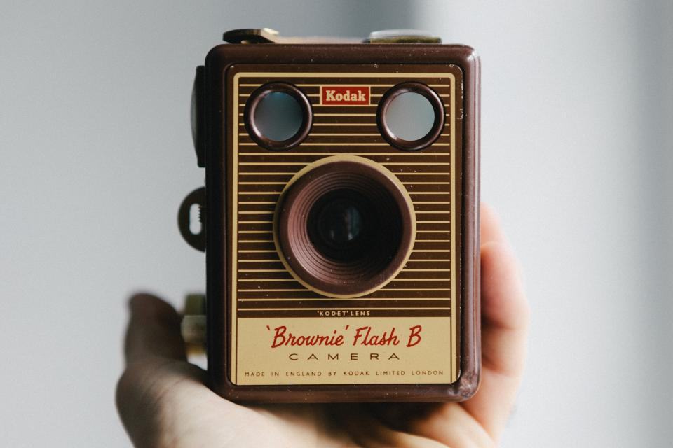 kodak camera brownie box film