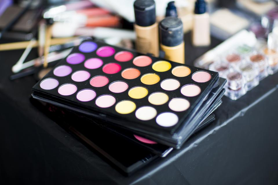 beauty makeup cosmetics palette colours colors
