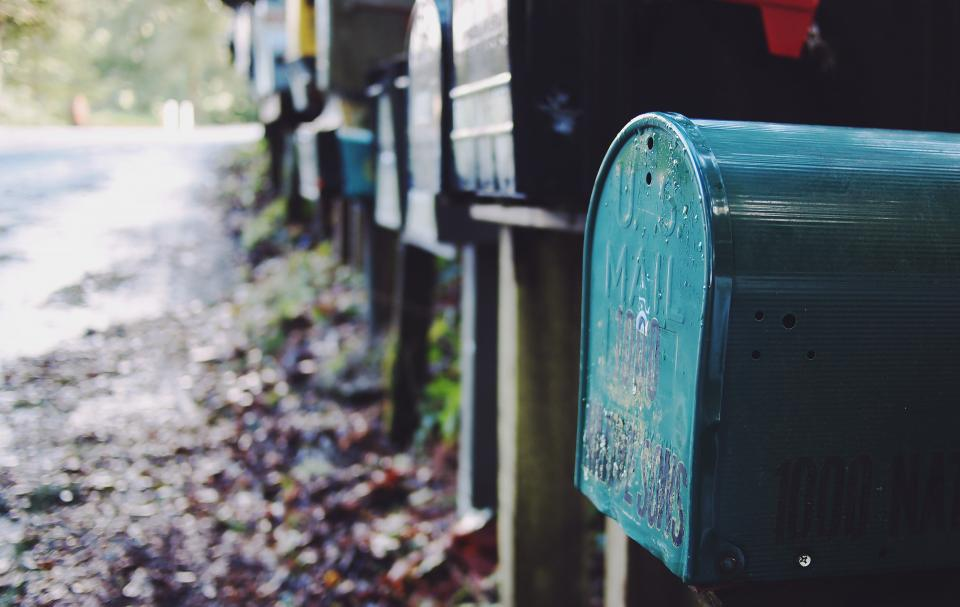mailboxes letters