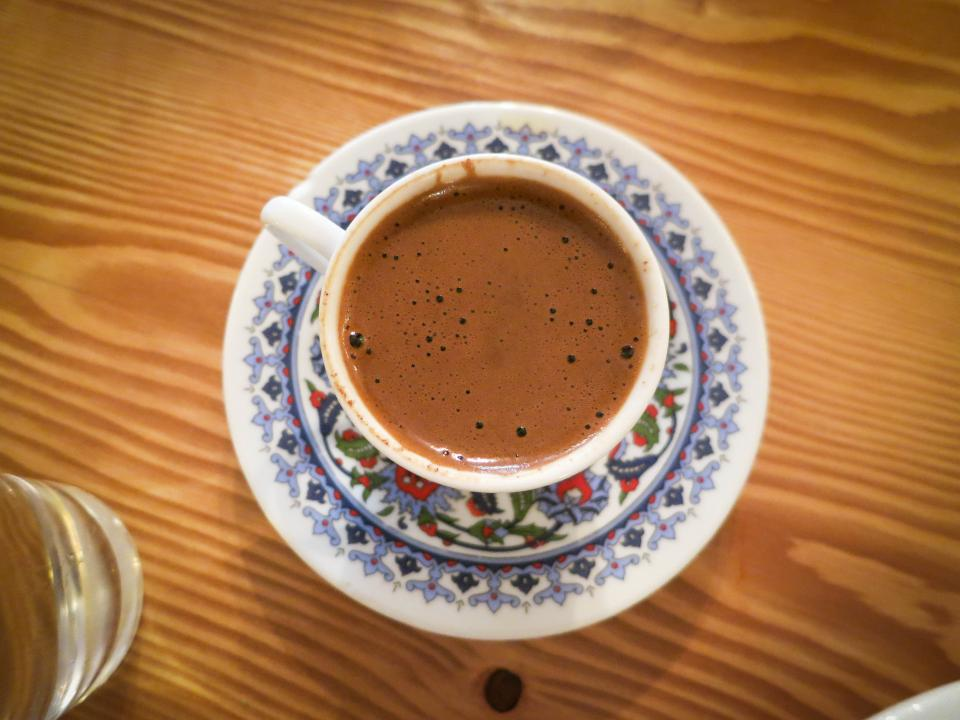 coffee cup turkish