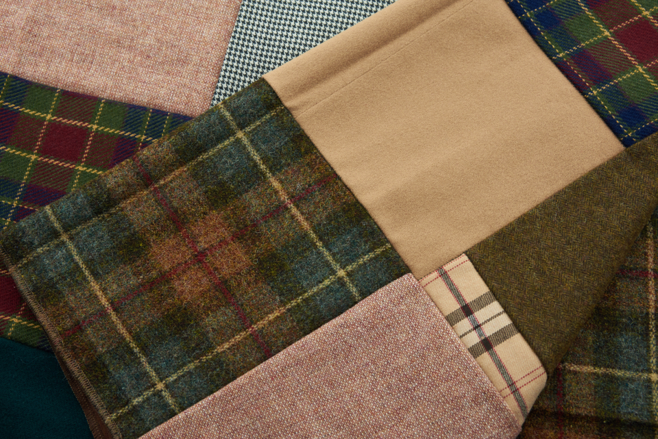plaid fabric background texture pattern cloth clothing design material woven weave fiber fashion cover textile