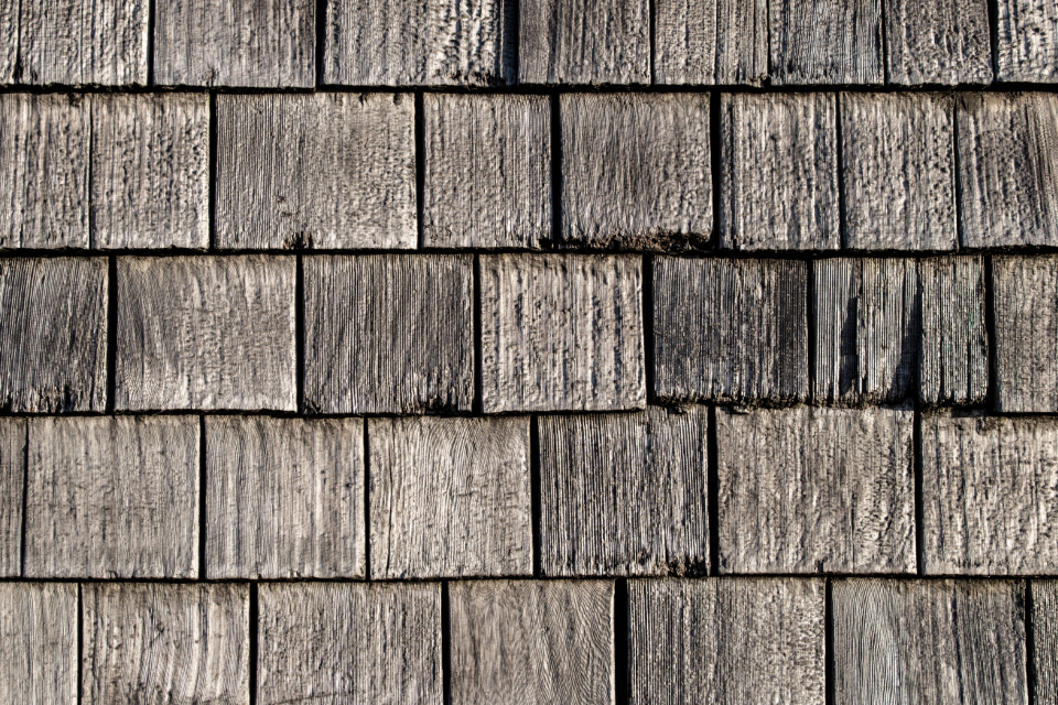old wood siding cedar weathered worn background texture exterior shingle natural faded