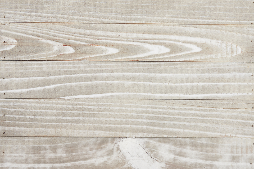 white washed wood background texture top grain planks board timber decking panel floor natural material worn distressed old rough