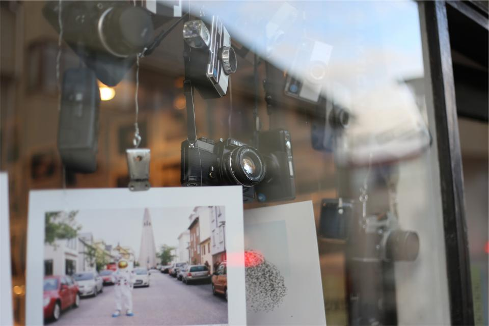cameras prints photography pictures display store