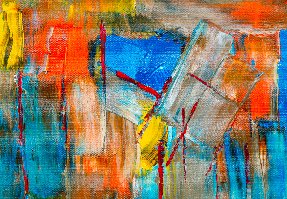colorful abstract art paint acrylic oil canvas texture artist creative design brush brushstrokes detail strokes painting