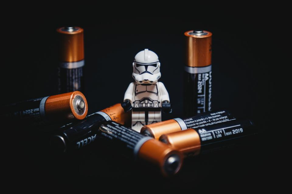 batteries battery power star wars storm trooper lego objects