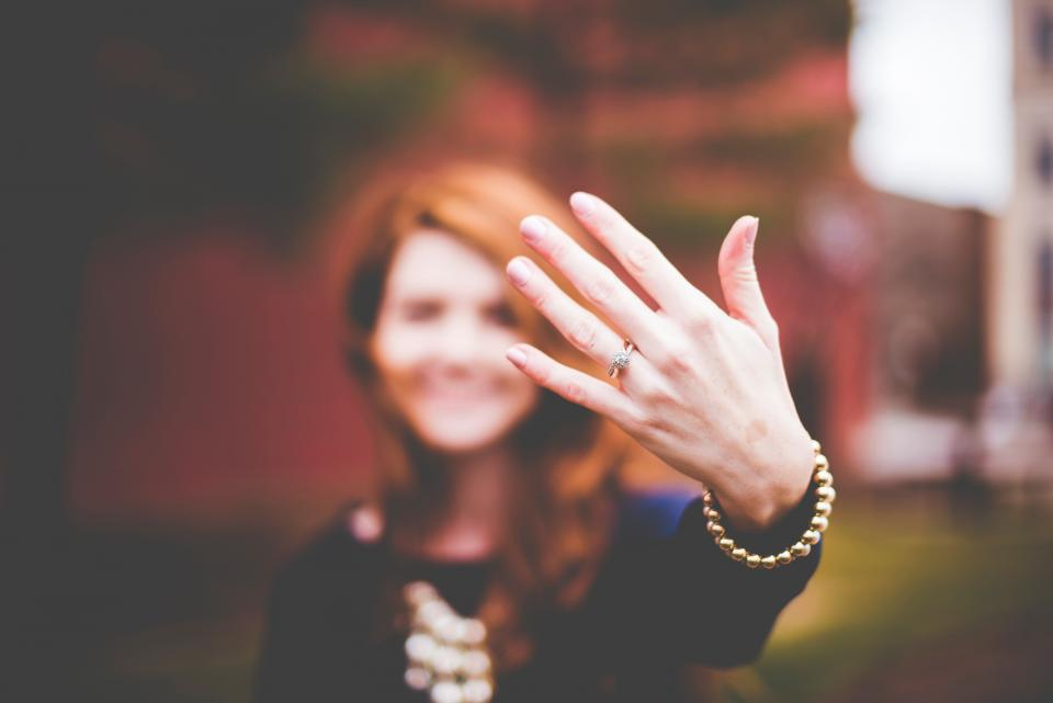 hand finger palm ring bracelet people woman blur