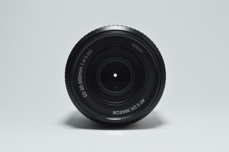 lens black round nikon camera shadow wall shoot circle