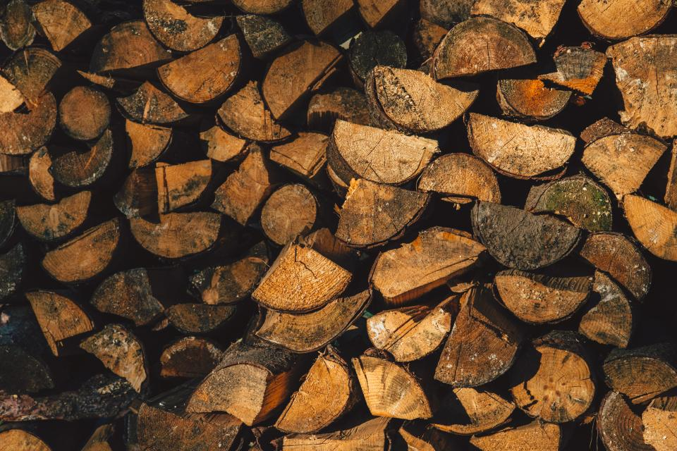 wood logs lumber pattern texture