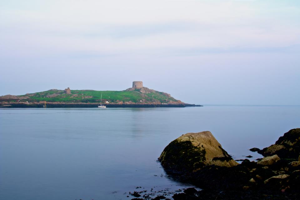 Dalkey Island Dublin Ireland water coast rocks ocean sea