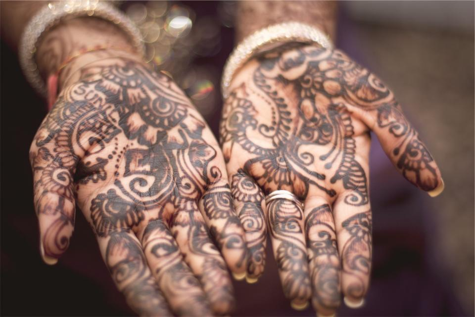 henna tattoos hands