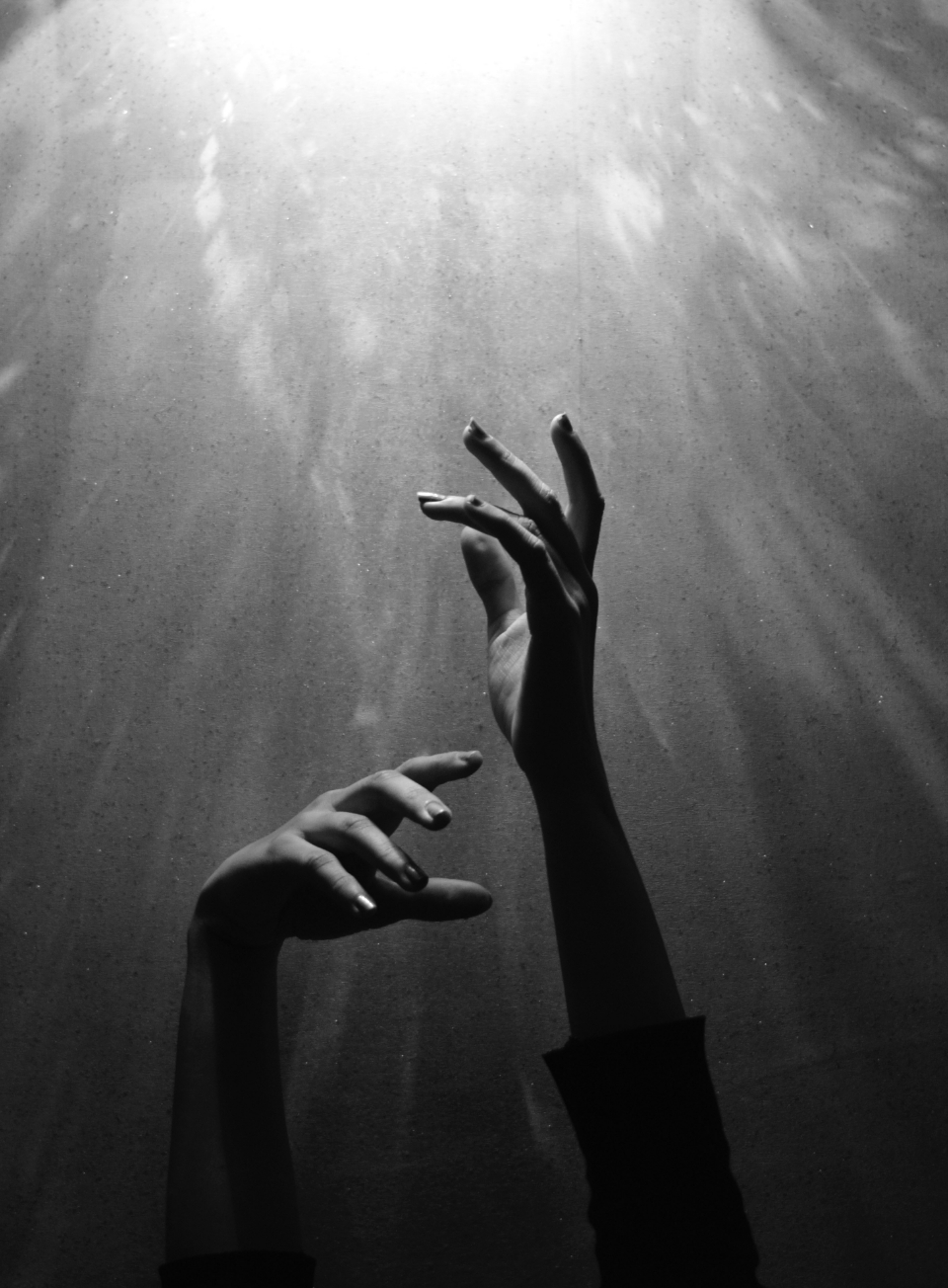 hands darkness light creative artistic gloomy mysterious energy supernatural abstract