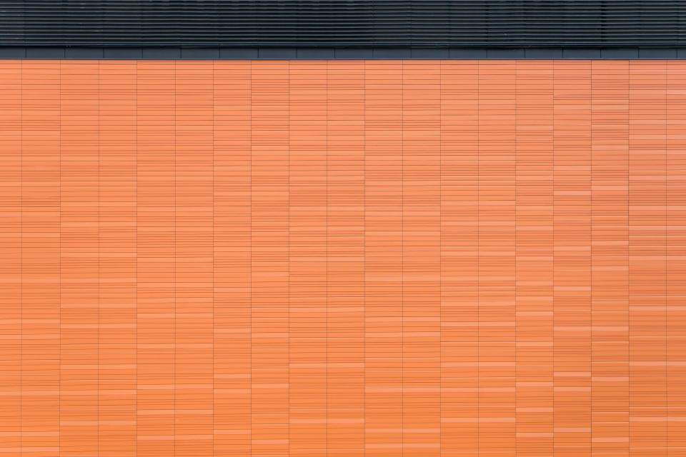 orange wall pattern