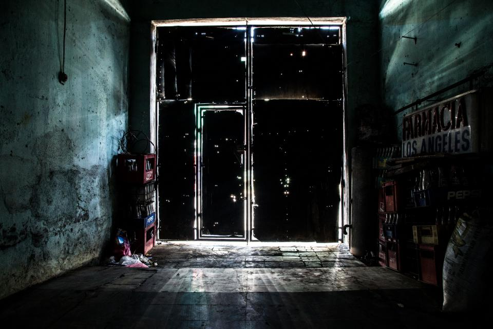 dark night storage stock room security