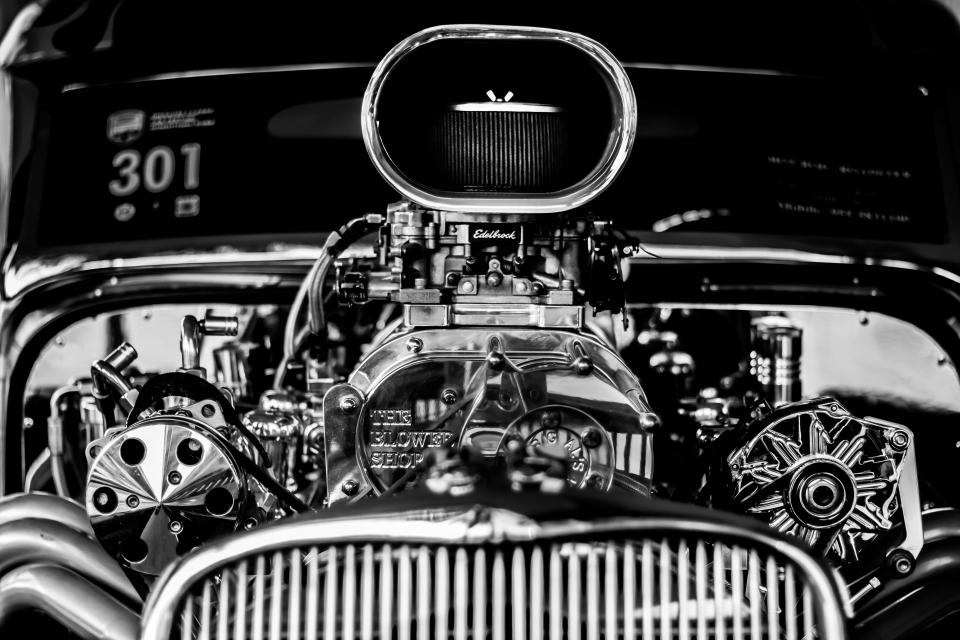 technology transportation engine motor vehicle car automotive black and white still