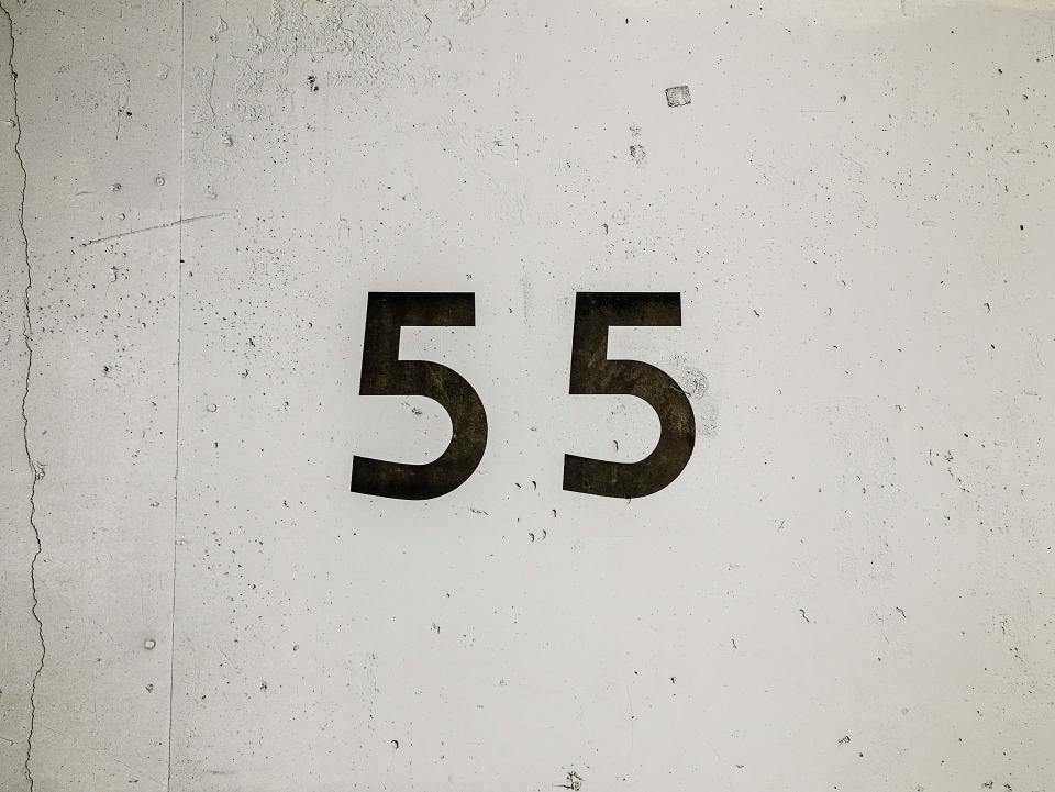 wall number count label