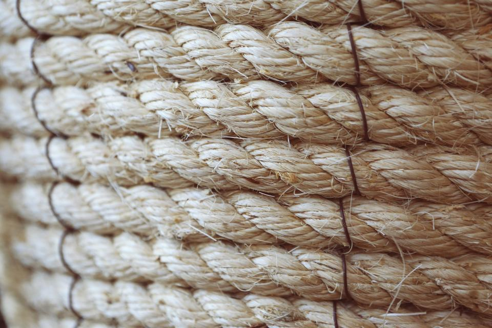 rope texture pattern string