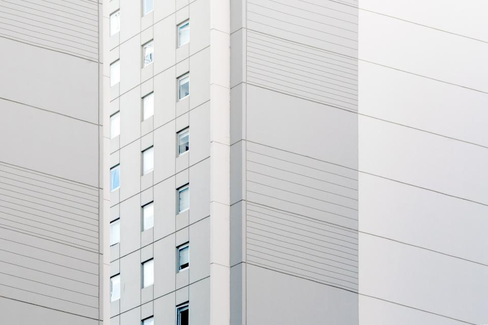 architecture white building infrastructure design