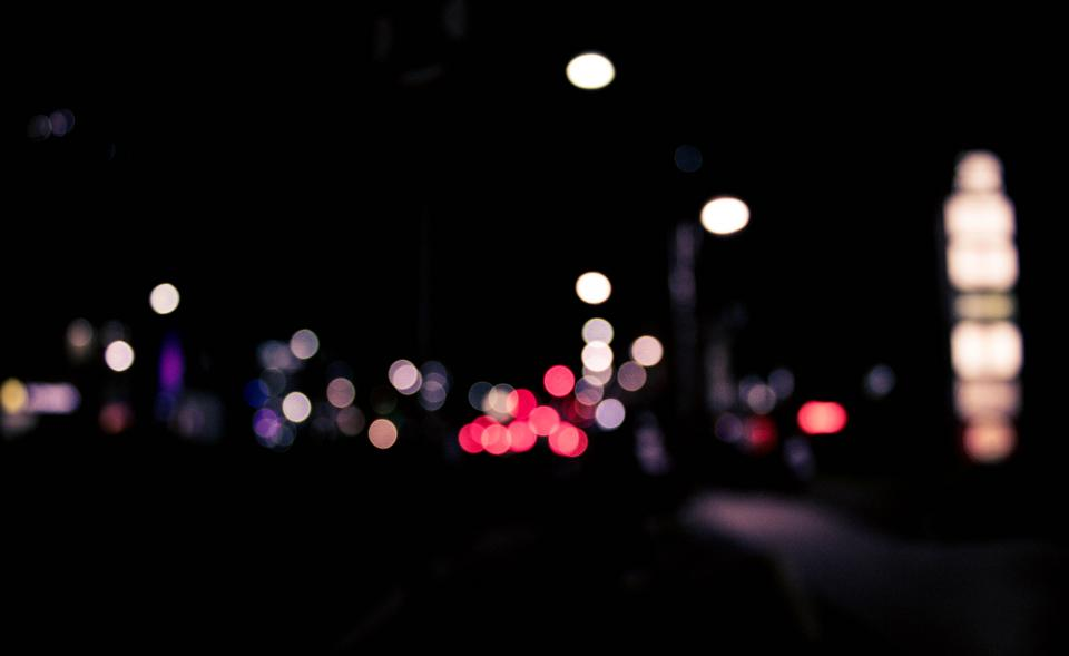 city lights colors photography bokeh