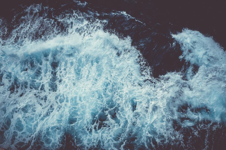 sea ocean water waves nature splash