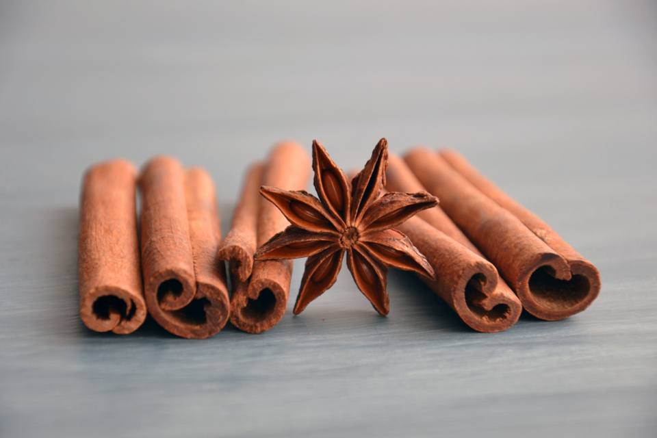 spices ingredients seasoning cuisine food cooking anise cinnamon star anise cinnamon sticks flavor