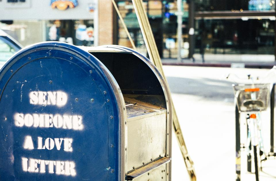 mailbox mail letters love